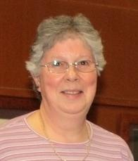 Sheila Haddon - former church secretary