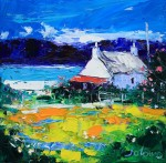 "Jolomo Limited Edition Print ""Summer Light Isle of Gigha"""