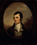 Robert Burns (by Alexander Nasmyth)