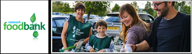 Trussell Truse Foodbank banner image