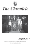 Chronicle August 2014
