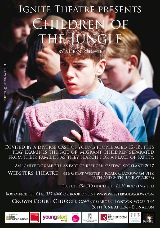 Poster for 26 June performance