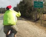 Success - the Jacksonville city limit sign!