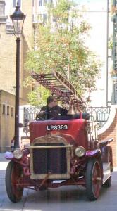 Jezebel the 1916 vintage fire engine