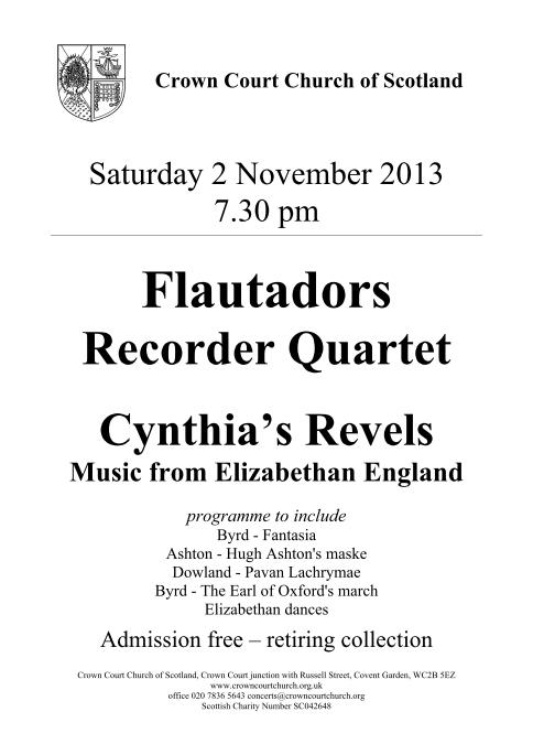 Poster for 2 November