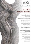 EBC Bach St John Passion 12 April 2014