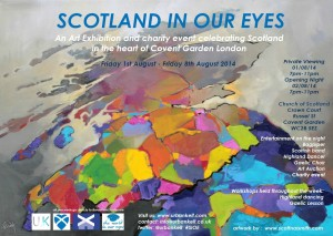 Scotland in our eyes exhibition poster