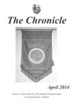 Chronicle April 2014