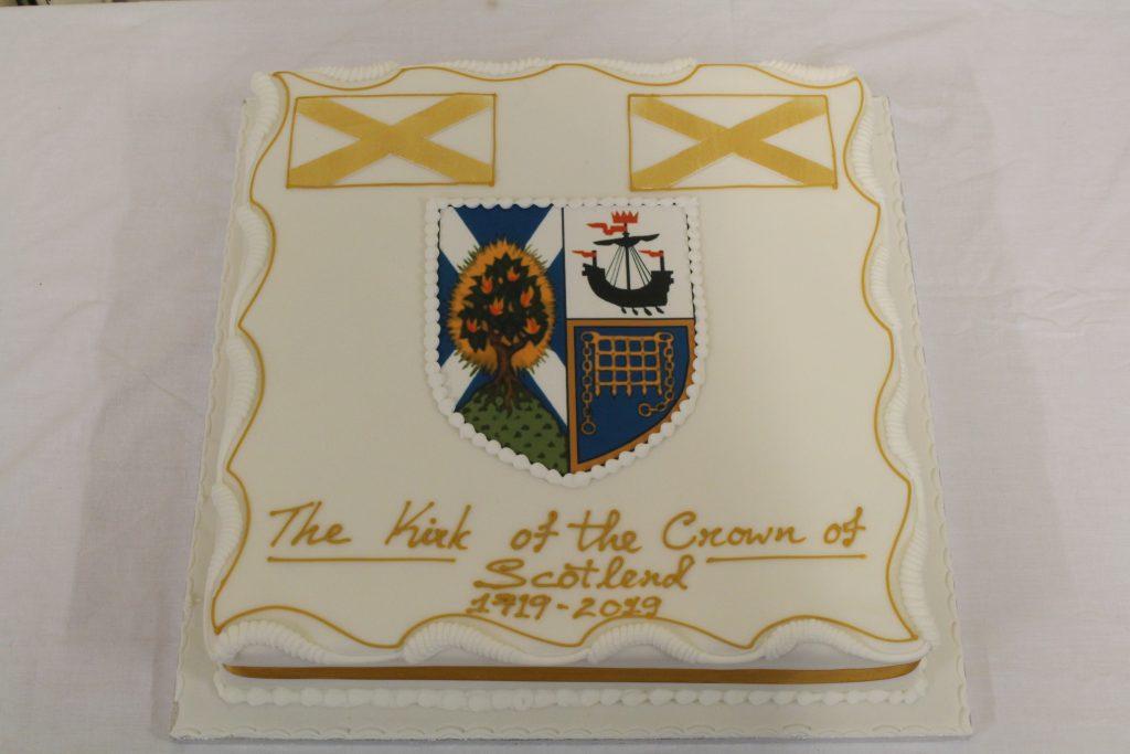 Photo of celebration cake